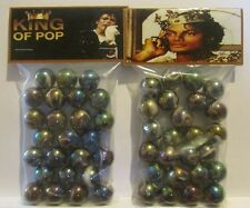 "2 Bags Of Michael Jackson ""The King Of Pop"" Promo Marbles"