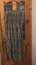 Ladies Maxi Dress Straps From Label Be Size 28 Bnwt