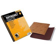 Indasa Naßschleifpapier 10x Bogen 230x280mm P1000 schleifpapier wasserfest