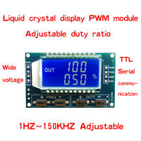 1PCS PWM pulse frequency duty cycle adjustable module wave signal generator