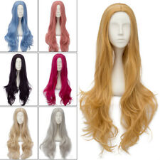 11 Colours Party 80CM Long Wavy Lolita Lady Basic Halloween Anime Cosplay Wig