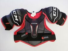 New listing Ccm Chest Protector Junior Large Black Red Ice Hockey Ft350 f