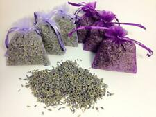Set of 6 Lavender Sachets made with Purple Organza Bags