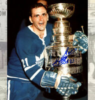 Bobby Baun Toronto Maple Leafs Autographed 8X10