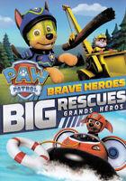 PAW PATROL: BRAVE HEROES BIG RESCUES (BILINGUAL) (DVD)