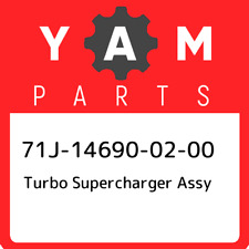 71J-14690-02-00 Yamaha Turbo supercharger assy 71J146900200, New Genuine OEM Par