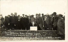 Kingham. Chipping Norton R.D.C. Building Scheme. J.G. Abraham Laying Stone # 2.