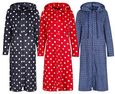 Marks & Spencer Womens Zipped Hooded Fleece Loungewear New M&S Hoodie Nightdress