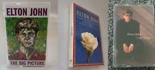 ELTON JOHN (3) Cassette Lot THE BIG PICTURE/Candle in Wind/LOVE SONGS/LADY DI