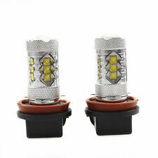 2Pcs Genuine Cree XB-D LED Fog Light or DRL 80W 1900LM, H11, White 6000K