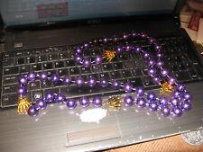 Rex Krewe Of Mardi Gras 24 inch Plastic Beads New Orleans Parade Louisiana