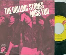 "ROLLING STONES - MISS YOU ( DUTCH  RS 5C006-61201) 7""PS  1978"