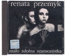 RENATA PRZEMYK MALO ZDOLNA SZANSONISTKA 1992 1 PRESS TOP RARE OOP CD POLSKA