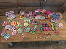 Vintage Bluebird Polly Pocket Compact Houses Cars Figures 1989-2007 HUGE Lot 💜
