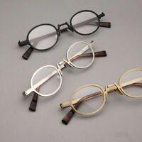Small Round Vintage Men Woman RX able Glasses Eyeglass Retro Frames 43-17-135