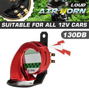 Universal Car Snail Air Horn Siren Loud 130dB Waterproof Truck Motorcycle