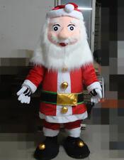 Santa Claus Mascot Parade Christmas Costumes Kris Dress Kringle Carnival Outfits
