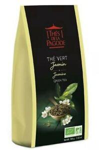 Thés De La Pagode - Organic Jasmine Green Tea - 2 x 3.52oz /100gr