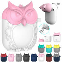 Cute Owl Shockproof Silicone Apple AirPods Protective Case Cover For AirPods