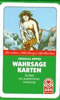 ORIGINAL KIPPER WAHRSAGEKARTEN - 36 Blatt Altenburger Spielkarten - NEU