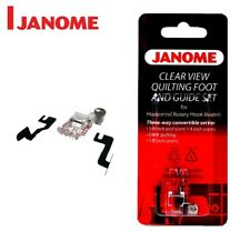 Janome Clear View Quilting Foot and Guide Set (Category B and C)