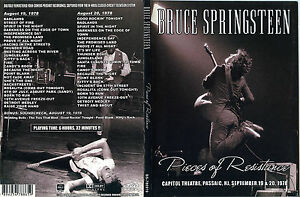Pieces of resistance Capitol Theatre 1978  Bruce Springsteen 6 ore di MUSICA