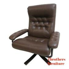 Prime Tufted Leather Chair In Antique Chairs 1950 Now For Sale Ebay Machost Co Dining Chair Design Ideas Machostcouk
