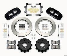 "Wilwood BMW 325i,328i,335i Aero4 Rear Big Brake Kit W/Parking Brake,14"" Rotors"