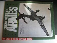 **oct L'Encyclopédie des Armes n°120 Avions d'attaque au sol de l'Axe