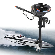 3.5HP 2 Stroke Outboard Engine Inflatable Fishing Boat Motor Water Cooling CDI