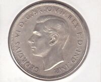 CB1407) Australia 1938 Crown A/UNC. Nice lightly toned fault free coin