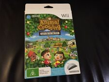 Animal Crossing Let's Go To The City Bundle NINTENDO Wii Boxed