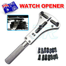 Watch Repair Tool Kit Watchmaker Back Case Opener Wrench Screw Cover Remover