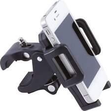 Diamond Plate Adjustable Motorcycle/Bicycle Phone Mount 360 Swivel Foam Padding