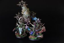 Warhammer 40k Deathguard Lords Of Contagion Bloat Drone Blightbringer Painted HQ