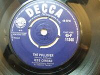 """Jess Conrad – The Pullover 1961 7"""" Decca F 11348"""