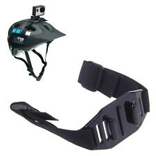 Gopro vented helmet strap mount adjustable strap belt mount for Hero2 3 4 xiaomi