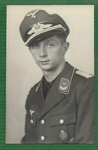 Foto Portrait Leutnant Luftwaffe Flieger Orden WK2 - Postkartengröße - Mimosa -