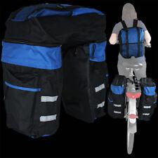 Fahrrad Gepäcktasche Satteltasche Fahrradtasche Rucksack Tasche Gepäckträger NEU