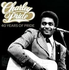 CHARLEY PRIDE (2 CD) 40 YEARS OF PRIDE ~ GREATEST HITS / BEST OF ~ CHARLIE *NEW*
