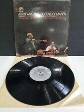 JOHN WILLIAMS EUGENE ORMANDY LP Vinyl MS-6834 ORIGINAL EXCELLENT COND. SHRINK ON