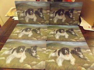 6 Sheepdog Table Mats