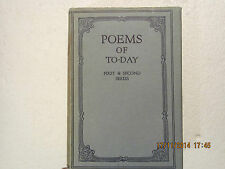 POEMS OF TODAY-FIRST AND SECOND SERIES-THE ENGLISH ASSOCIATION-1934-RPT
