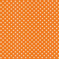 Verena - Tupfen 1cm - Dots - Punkte - orange - Swafing - Jersey