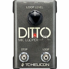 TC Electronic TC-Helicon Ditto Mic Looper Prymaxe Pedal Bundle