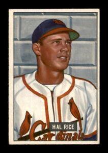 1951 Bowman Set Break # 300 Hal Rice EX *OBGcards*