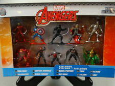 Marvel Avengers Nano Metal Figures Set of 10 Exclusive Jada Toys Brand New Box