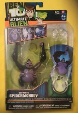 "Ben 10 ULTIMATE SPIDERMONKEY Alien Action Figure 4""  Cartoon Network 2010 Bandai"