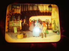 "Vintage CWS Reddish ""Pickwickian Days"" Confectionery ADVERTISING TIN Storage"