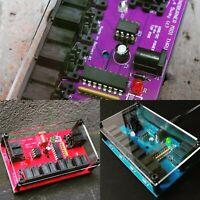 MINDBURNER classic 5 way MIDI Thru Splitter, blue,purple or red